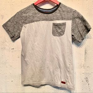 7 for All Mankind Boys T-shirt gray sz L